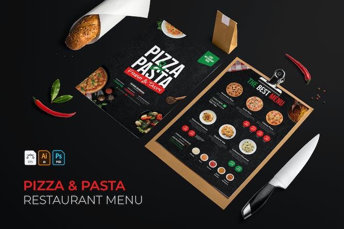 Thumbnail for Pizza & Pasta   Restaurant Menu