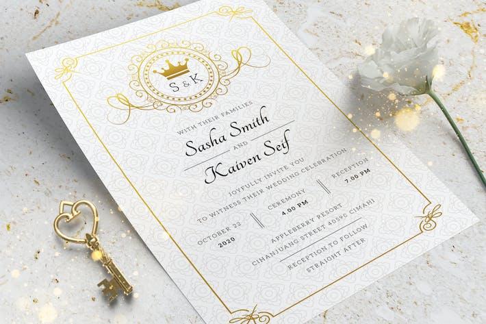 Einladung zur königlichen Hochzeit