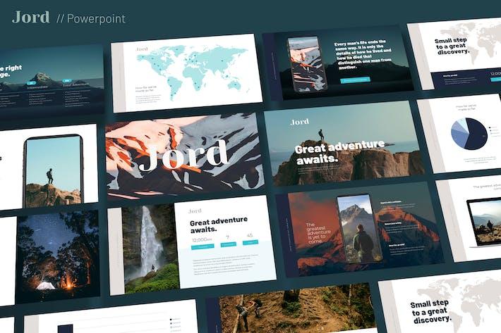Thumbnail for Jord - Modern Google Slides Template
