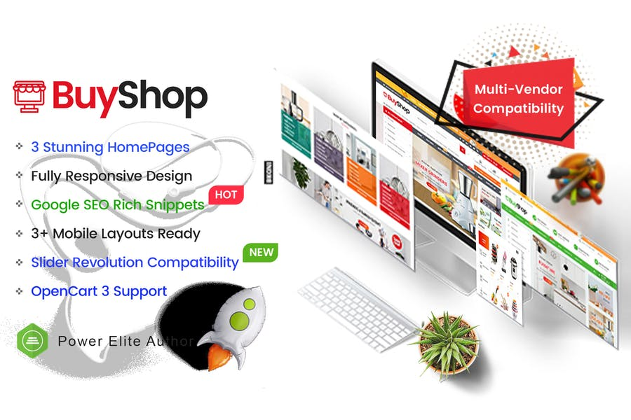 BuyShop - Multipurpose OpenCart 3 Theme