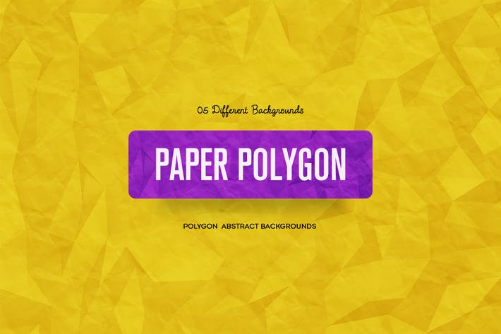Paper Polygon  Abstract Backgrounds