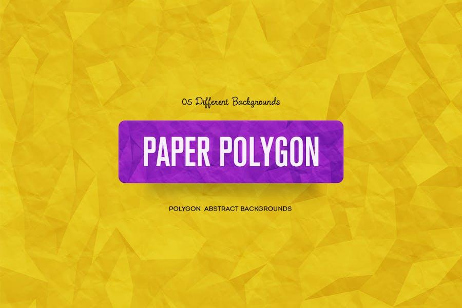 Papier-Polygon-Abstrakte Hintergründe