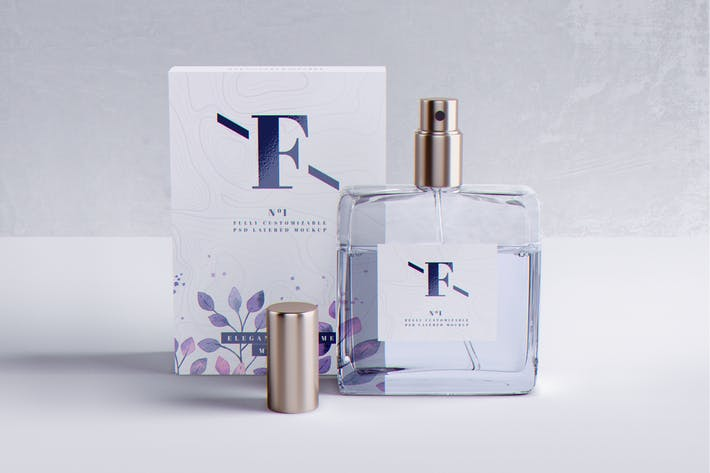Thumbnail for Perfume Packaging MockUp