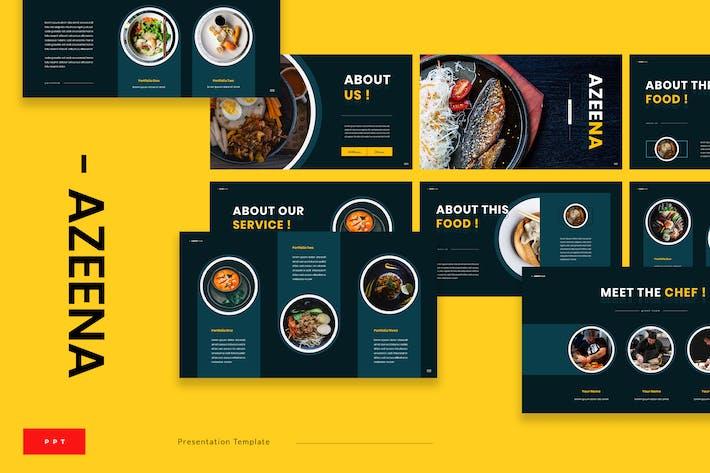 Thumbnail for Azeena - Asian Food Powerpoint Presentation