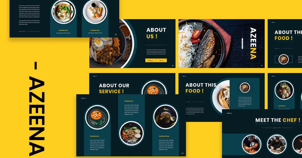 Download Azeena - Asian Food Powerpoint Presentation by naulicrea