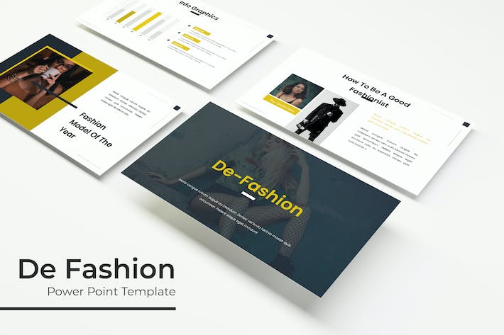 Thumbnail for De Fashion - Powerpoint Шаблон