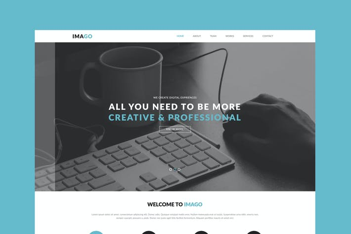 Thumbnail for Imago - Multipurpose Muse Template