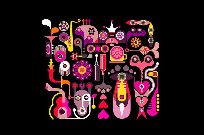 Thumbnail for Diseño de música abstracta