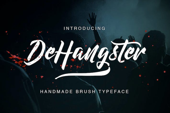 Thumbnail for DeHangster Typeface