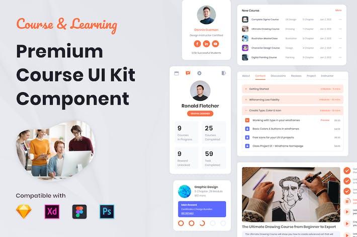 Thumbnail for UI-Kit für den Kurs - Nuzie