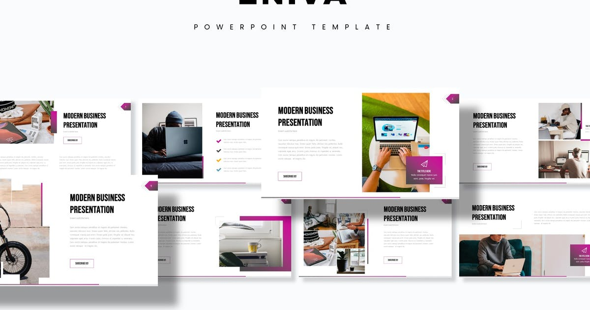 Download Eniva - Powerpoint Template by aqrstudio