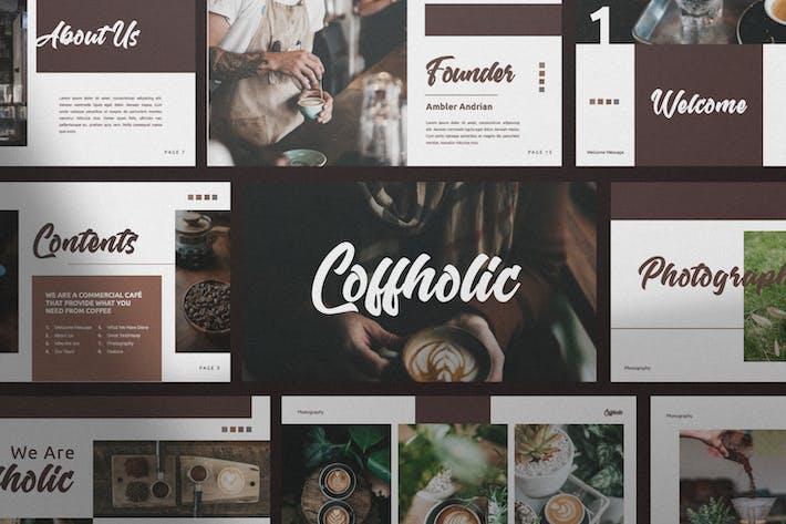 Thumbnail for Coffholic Brand Coffee Keynote