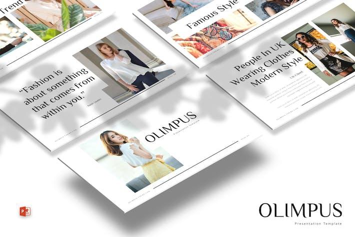 Thumbnail for Olimpus - Powerpoint Template