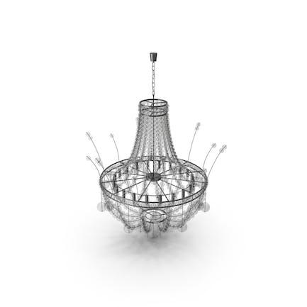 Candelabro de cristal Moderno