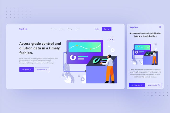 Testing and Launch landing page