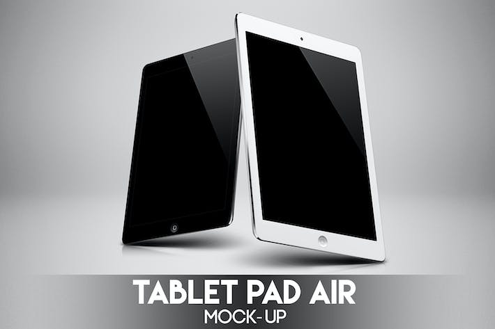 Thumbnail for Tablet Pad Air Mock-Up