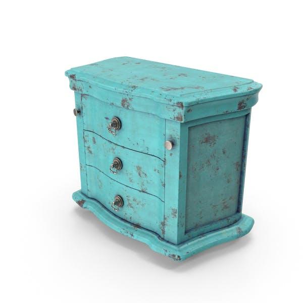 Vintage Dresser Blue