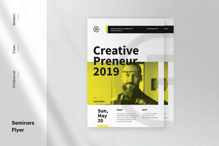 Thumbnail for Corporate Flyer Template v2