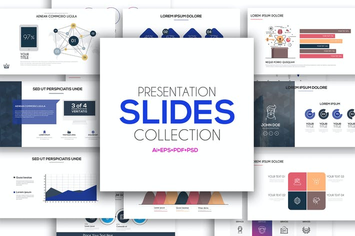 Thumbnail for Presentation slide templates
