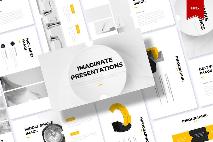 Thumbnail for Imagninate | Powerpoint Template