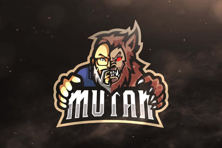 Thumbnail for Mutan Sport and Esports Logo Template