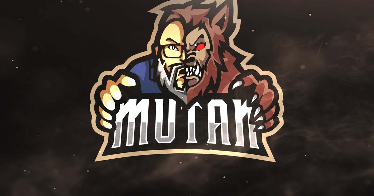 Download Mutan Sport and Esports Logo Template by ovozdigital