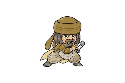Arabian Companion Vol.8 - Character RG
