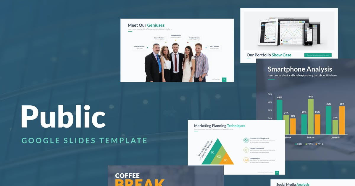 Public Google Slides Template by Unknow