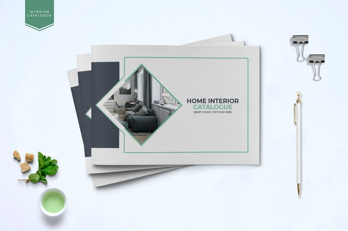Thumbnail for Interior catalogue Template