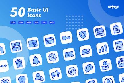 Travello Basic UI Icons