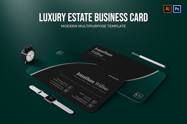 Thumbnail for Luxury Estate - Business Card