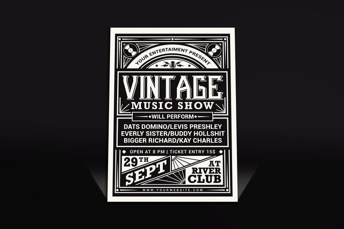 Thumbnail for Vintage Music Show