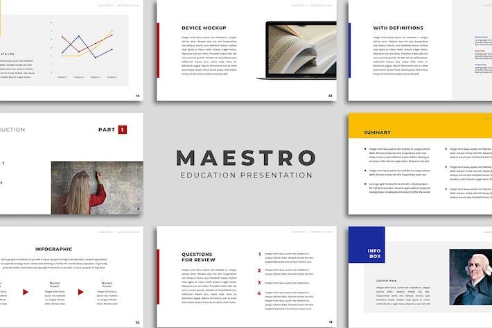 Maestro Education Presentation - Keynote
