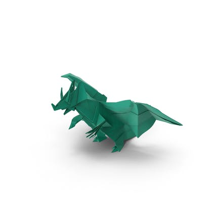 Origami-Drache