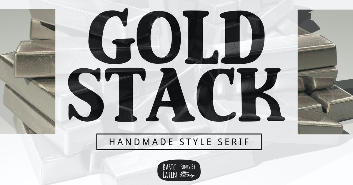 Download Gold Stack Serif by yandidesigns