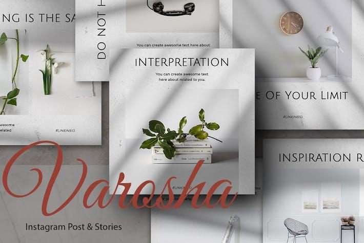 Varosha Instagram Post and Stories