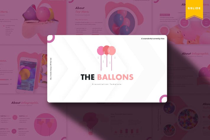 Thumbnail for The Ballons | Google Slides Template