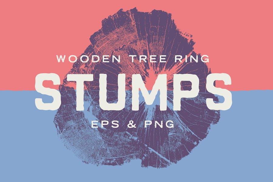 Wood Tree Stumps