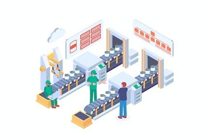 Изометрические системы управления производством и операциями