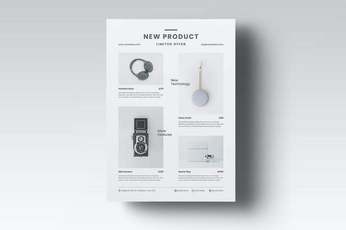 Cover Image For Product Flyer