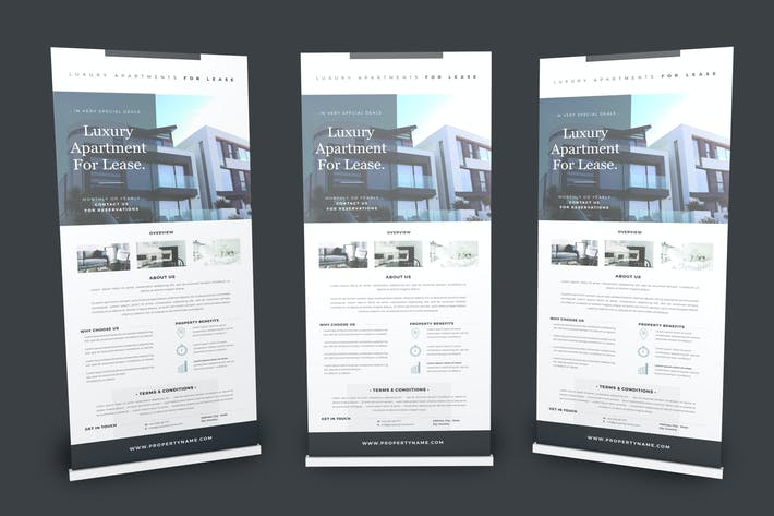 Thumbnail for Real Estate Roll Up Banner