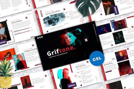 Griftone - Creative Purpose Googleslide Template