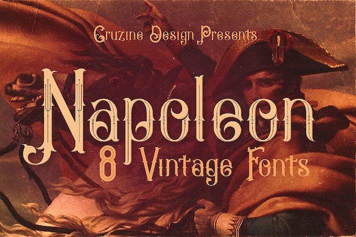 Thumbnail for Napoleon Vintage Typeface