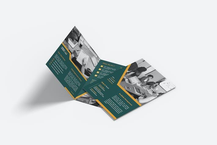 Portfoliomanagement-Formular Bifold