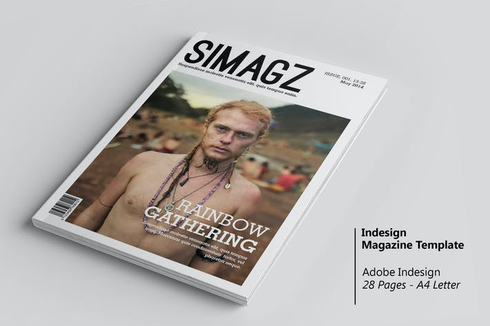 Thumbnail for Simagz - InDesign Magazine Template