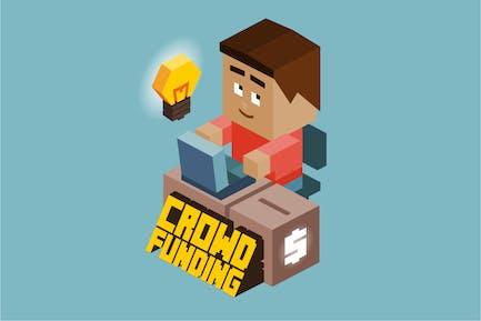 Crownfunding-Spieleentwickler