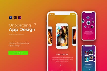 Onboarding | App Design Template