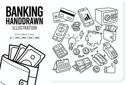 Banking Handdrawn