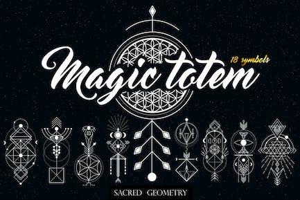 Heilige Geometrie. Magisches Totem