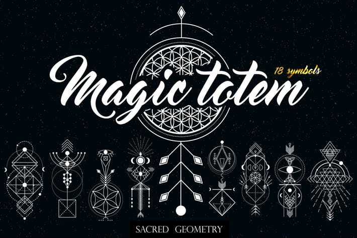 Thumbnail for Sacred Geometry. Magic totem